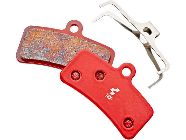 Cube Scheibenbremsbeläge Shimano Saint BR-M820/810, Zee BR-M640, BR-M8020, MT520 red